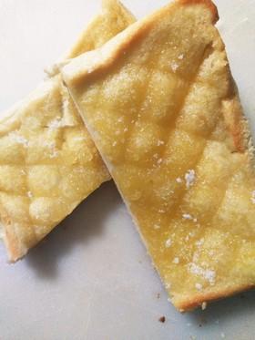 メロンパン風トースト♡超簡単!