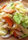 簡単 野菜炒め