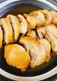 レンジで簡単!鶏もも肉のチャーシュー
