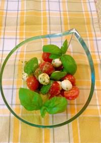 トマトとモッツアレラチーズのサラダ