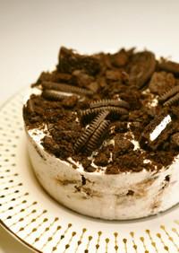 生クリーム不使用!オレオチーズケーキ