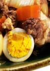 おうちDE居酒屋♪肉豆腐のゆで卵のせ
