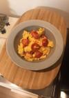 ミニトマトと卵の中華炒め