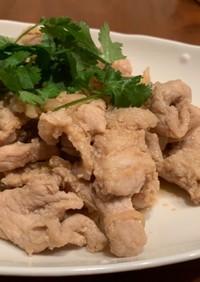 ごはんがすすむ!アジア風、豚の生姜焼き