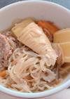 筍と豚肉の煮物。電気圧力鍋で簡単に!