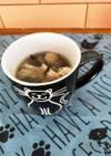 ヘルシー♪簡単♡舞茸とひじきのスープ