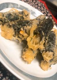 キムマリ(春雨の海苔巻き天ぷら)