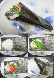 手巻き寿司:長&短と巻き方 ←自分用覚書の写真