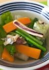 スルメの出汁が決め手!中華スープ♪