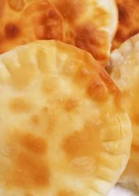 餃子の皮で☆チーズ餃子せんべい♪
