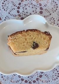 簡単ヘルシーな大豆粉チョコパウンドケーキ