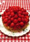 苺タルト♪2020年ママの誕生日くるみん
