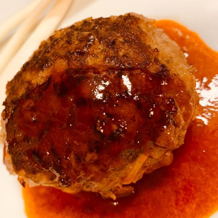 ☆肉汁パンパン☆冷凍できる簡単ハンバーグ