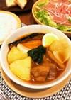 4種のスパイスでルーから作るスープカレー
