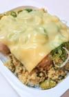 パックご飯で作る「卯の花のチーズご飯」