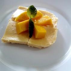 電子レンジで簡単チーズケーキ☆