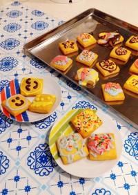 HM型なしデコクッキー☆おうちで楽しもう