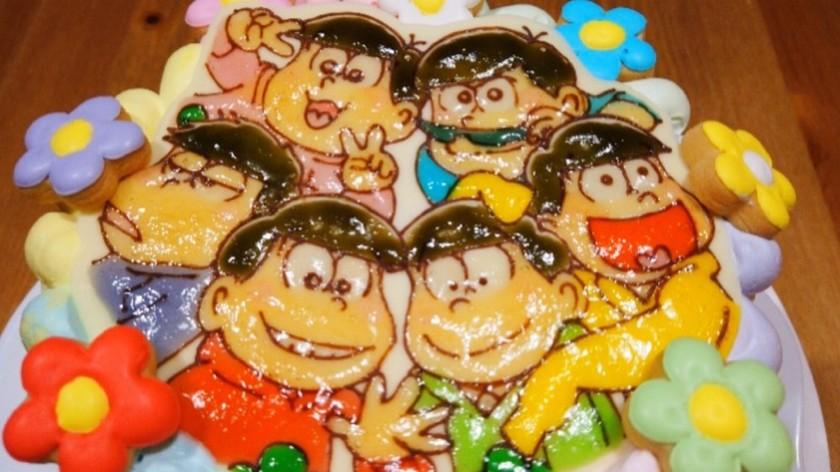 おそ松さんチョコプレートの作り方☆