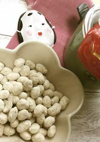 【電鍋レシピ】きなこ大豆