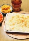シーフードドリア&2種類のサラダ