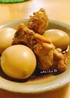 手羽元と卵のさっぱり煮