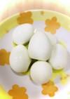 鶉卵の保存法 簡単な剥き方♡台湾美容食