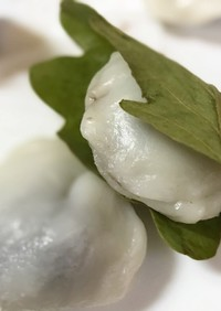 【電鍋レシピ】柏餅~端午の節句こどもの日