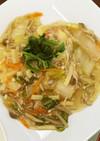 豆腐の中華野菜あんかけ
