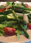 野菜とベーコンのサラダ(朝ごはん)