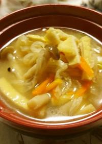 乾物☆切干大根の味噌汁