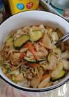 えのきと野菜のしらすオイル蒸し(簡単)