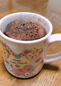 簡単!マグカップビターチョコケーキ