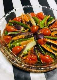 野菜の簡単レンジ蒸し ハーブ ワイン