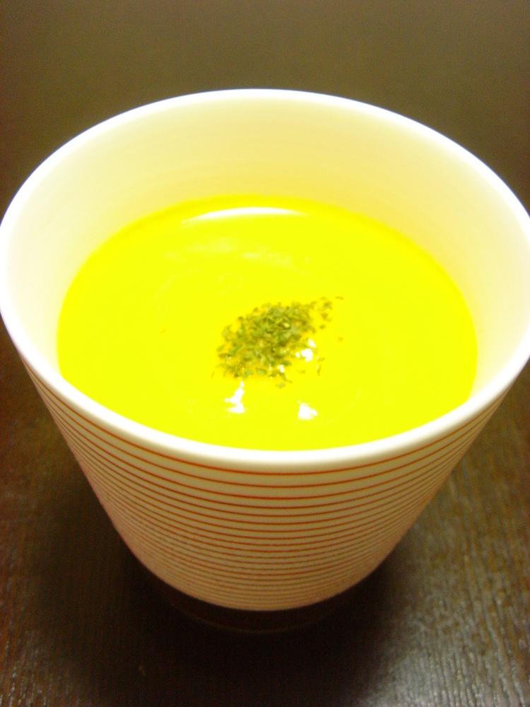 炒めない、かぼちゃスープ