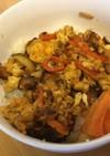 野菜たまごご飯 子どもプロテインレシピ