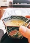 つや出しの余った溶き卵で茶碗蒸し風