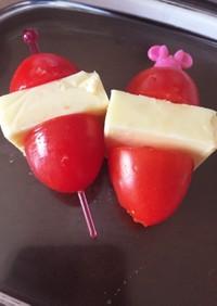 トマト&チーズ  簡単!お弁当のおかず♪