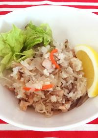 低たんぱく減塩 ガーリック炒飯(腎臓)