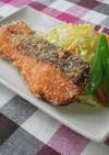 【給食の】鮭フライ