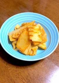 筍の煮物のリメイク