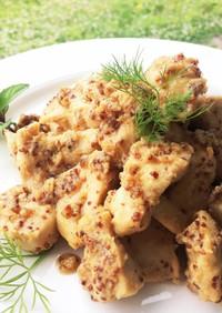 ☘鶏胸肉のハニーマスタード焼き☘