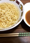 お家で簡単昆布水つけ麺&スープ割