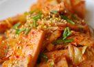 魚肉ソーセージのキムチ炒め