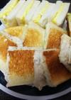 簡単美味・サンドイッチ三種