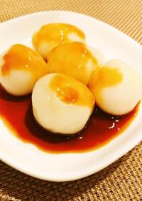 【病院】豆腐白玉のみたらし風【給食】