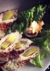 減量に高蛋白な竹輪+生姜で簡単おつまみ