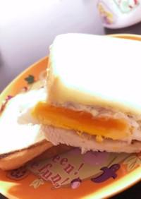 しらすエッグ和サンド