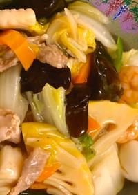 中華丼 (大家族向け)