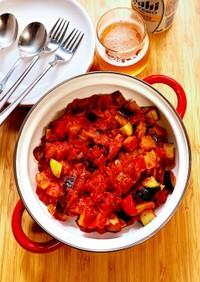 ラタトゥイユ トマト缶で簡単!