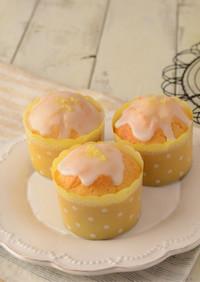カップケーキ型でつくるレモンケーキ